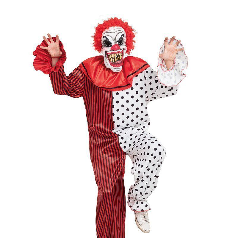 Horror Clown Costume (Adult Costumes) - Chest Size 44""