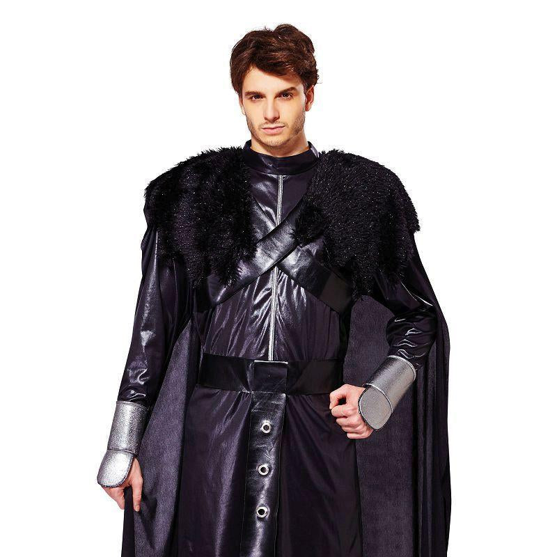 Cavalier Black Deluxe (Adult Costumes) - Male - One Size Fits Most