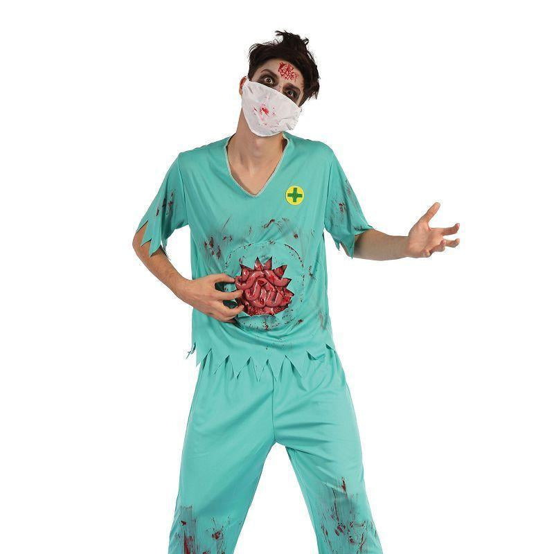 Zombie Surgeon Man (Adult Costumes) - Male - One Size Fits Most
