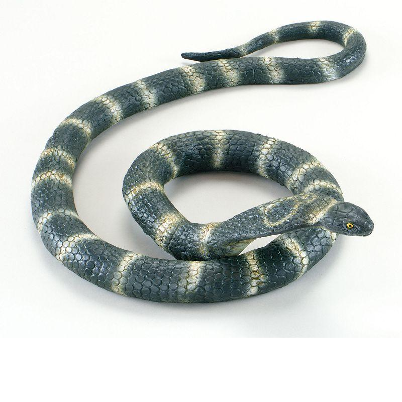 Cobra Snake. Rubber Bendable (Animal Kingdom) - Unisex - Large