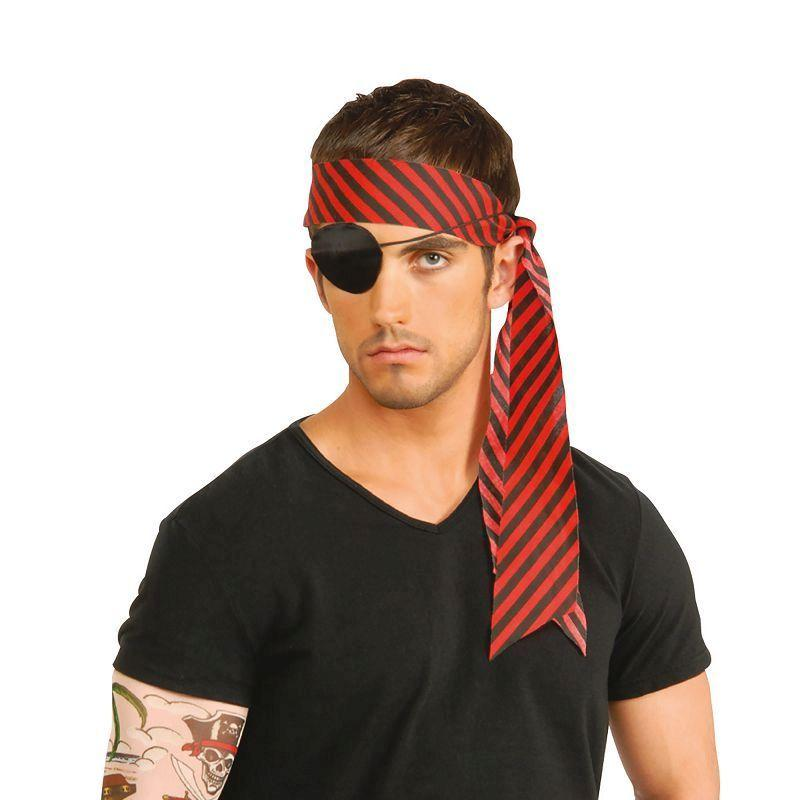 Mens Pirate Tattoo Sleeve. (Costume Accessories) - Male - One Size Halloween Costume