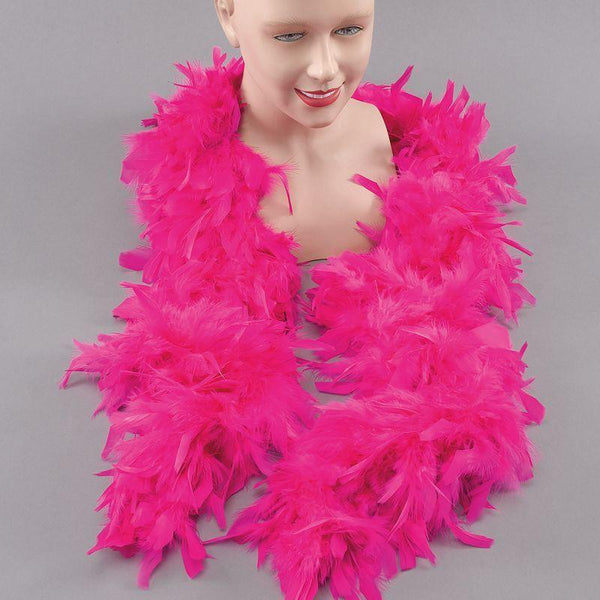 Feather Boa. Cyclamen (Costume Accessories) - Unisex - One Size