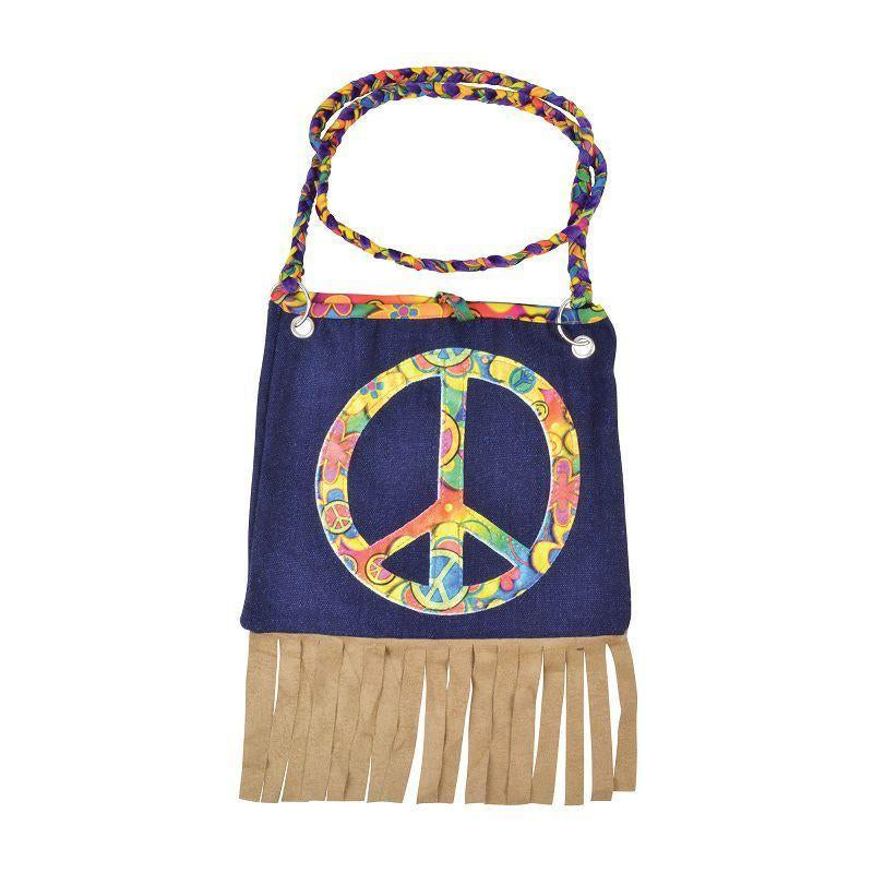 Womens Hippy Handbag (Costume Accessories) - Female - One Size Halloween Costume
