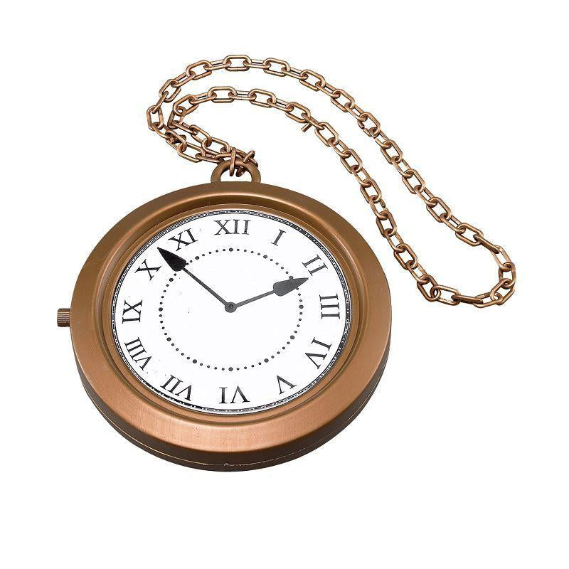 Jumbo Clock Medallion (Costume Accessories) - Unisex - Jumbo