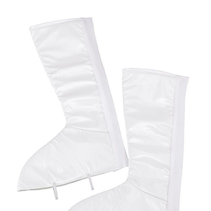 Womens Go Go White Boot Tops (Costume Accessories) - Female - One Size Halloween Costume