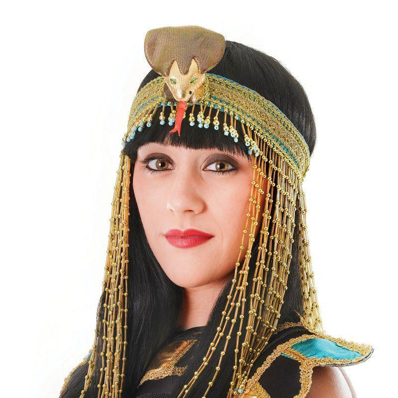 Womens Asp Beaded Headpiece (Costume Accessories) - Female - One Size Halloween Costume