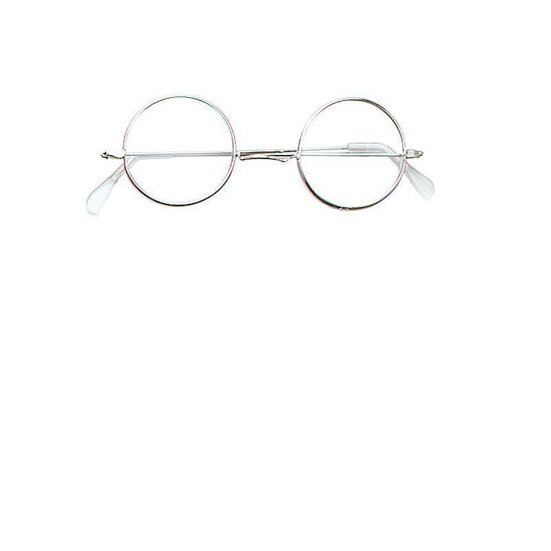 Womens Granny Specs. Round Iron (Costume Accessories) - Female - One Size Halloween Costume