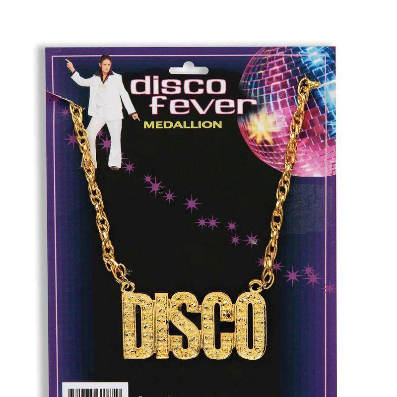 Disco Necklace (Costume Accessories) - Unisex - One Size