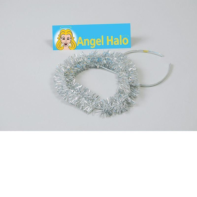 Womens Halo. Silver (Costume Accessories) - Female - One Size Halloween Costume