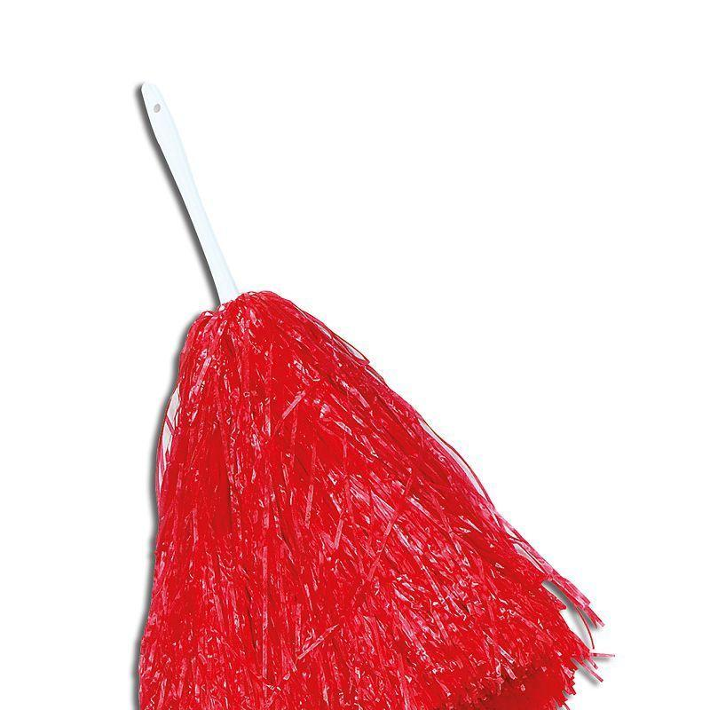 Womens Pom Pom. Large. Red (Costume Accessories) - Female - Large Halloween Costume