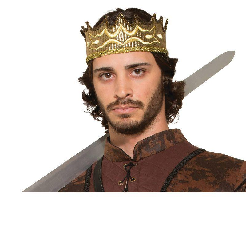 Mens Medieval Fantasy Crown (Costume Accesories) - Male - One Size Halloween Costume