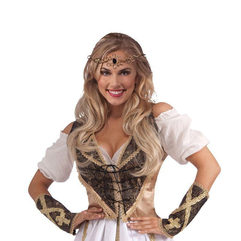 Womens Medieval Circle Crown (Costume Accesories) - Female - One Size Halloween Costume