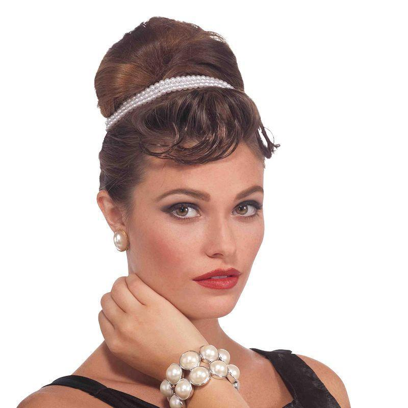 Womens Pearl Bracelet Vintage (Costume Accessories) - Female - One Size Halloween Costume