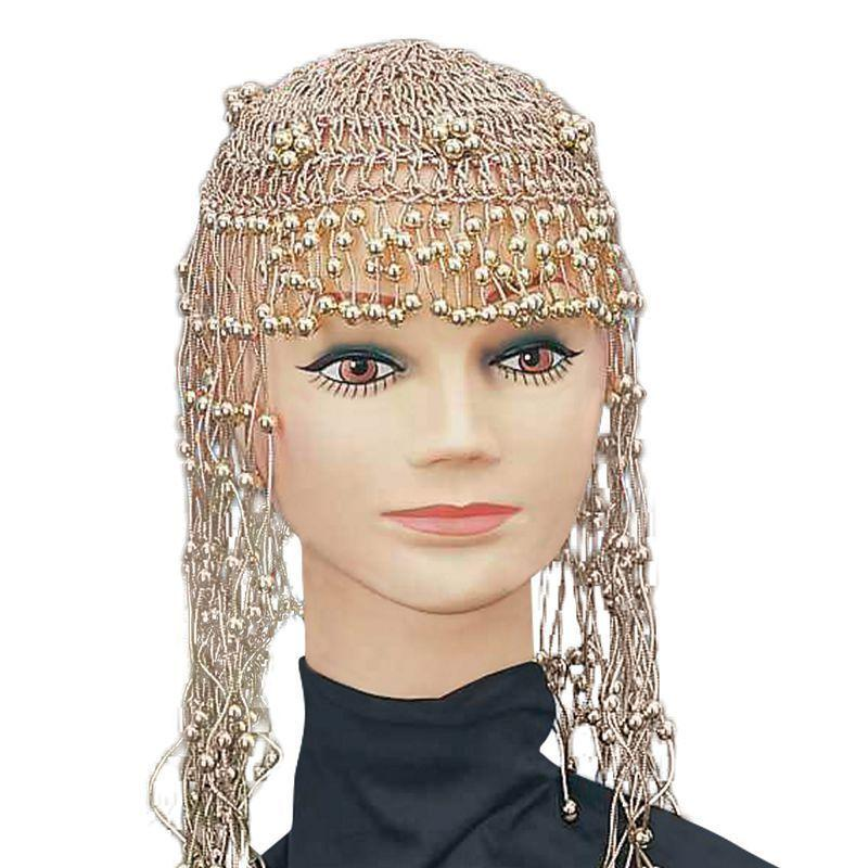 Womens Cleopatra Beaded Headpiece (Costume Accessories) - Female - One Size Halloween Costume