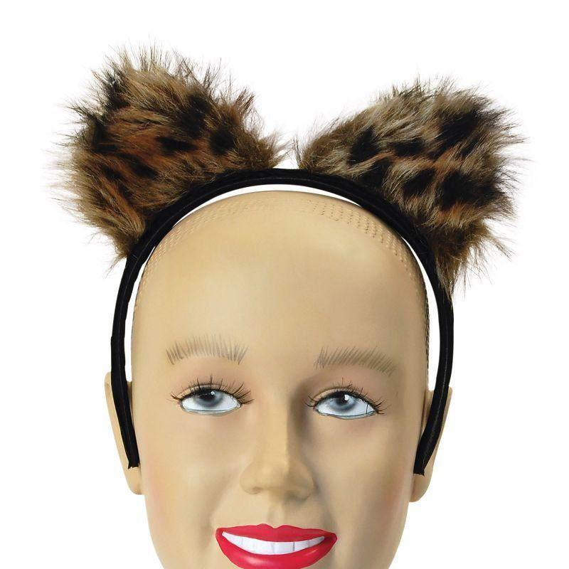 Womens Feline Fantasy Ears (Costume Accessories) - Female - One Size Halloween Costume
