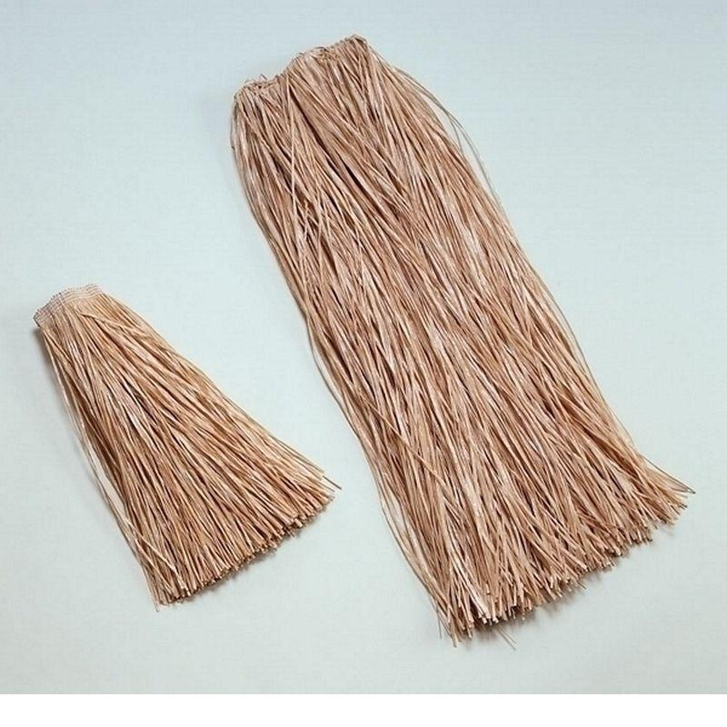 Long Grass Skirt 90cm Plain (Costume Accessories) - Unisex - 90cm
