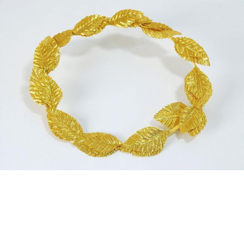 Roman Laurels. Gold Deluxe (Costume Accessories) - Unisex - One Size