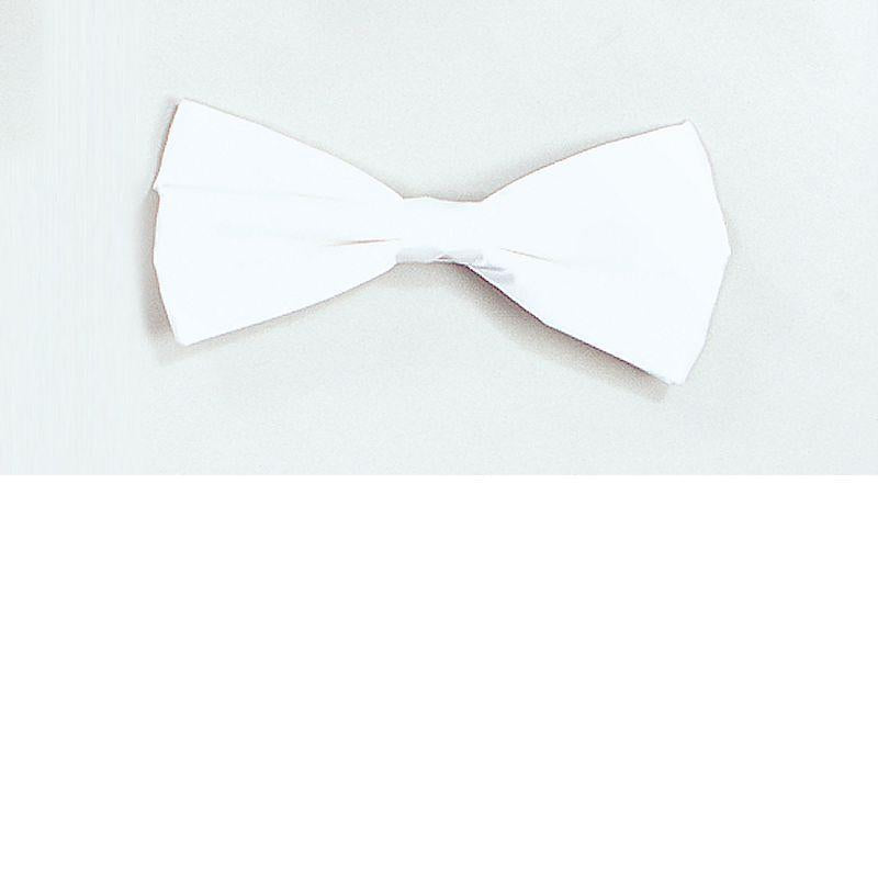 Bow Tie. White Best (Costume Accessories) - Unisex - One Size