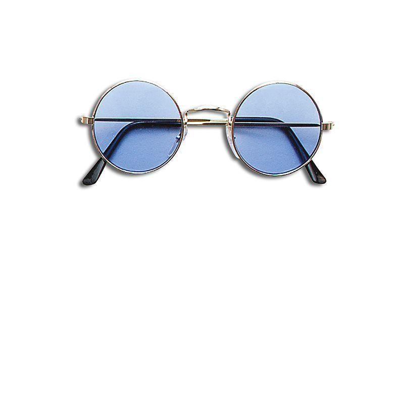 Lennon Glasses - Blue (Costume Accessories) - Unisex - One Size