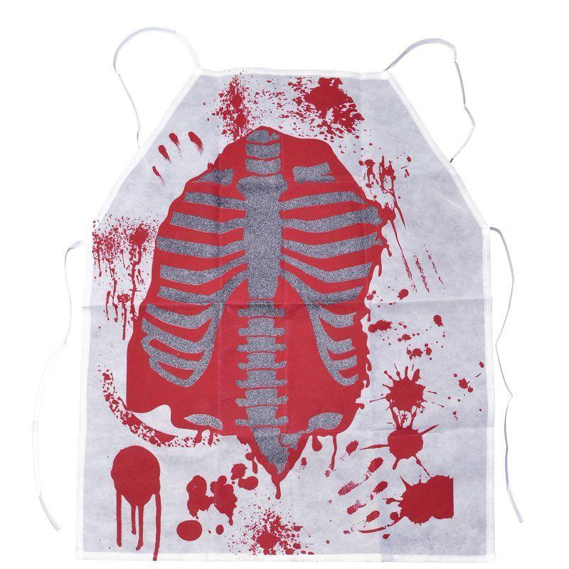 Mens Bloody Apron (Costume Accessories) - Male - One Size Halloween Costume
