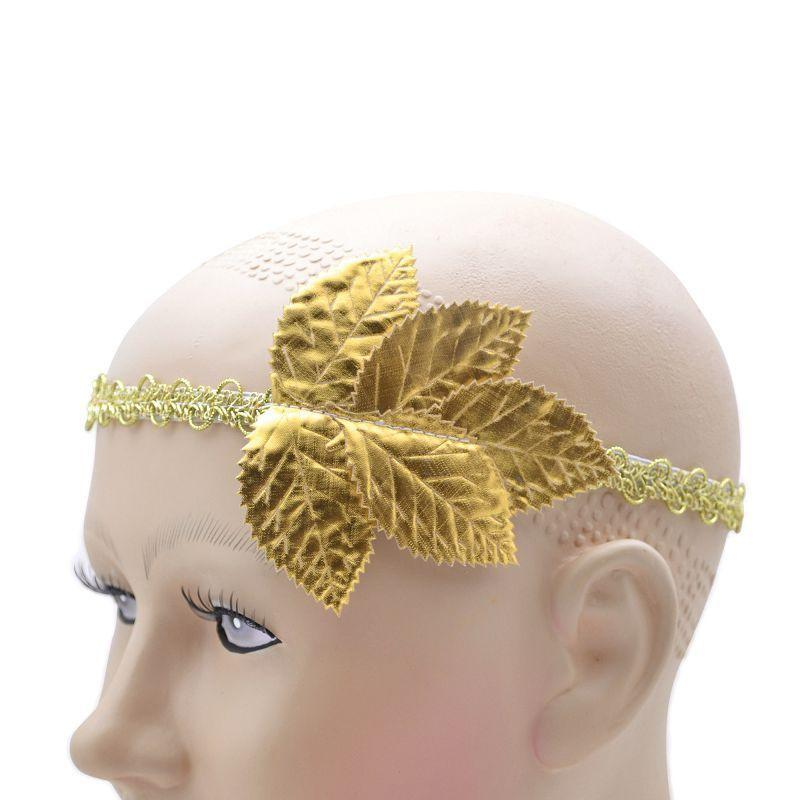 Gold Leaf Headband (Costume Accessories) - Unisex - One Size