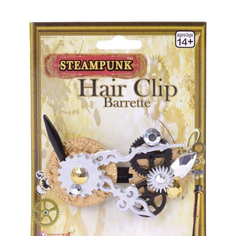 Steampunk Hair Clip (Costume Accessories) - Female - One Size