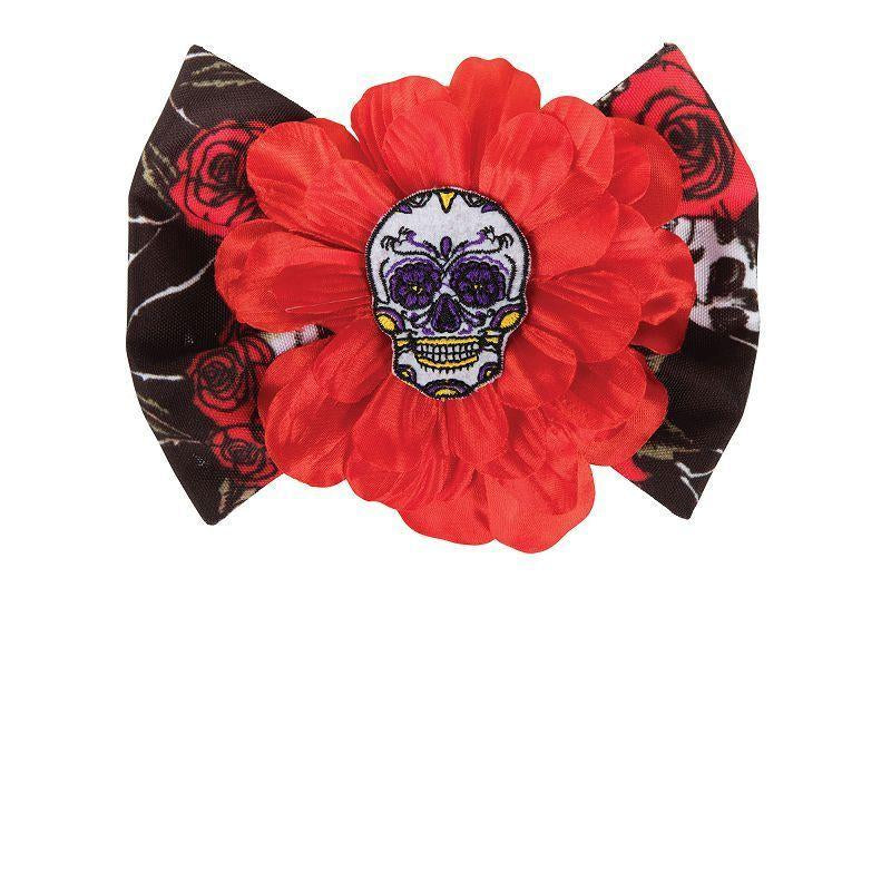 Day of the Dead Hair Clip (Costume Accessories) - Female - One Size