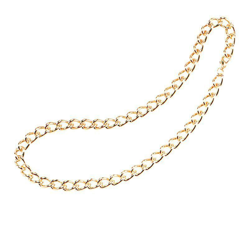 "Mens Gold Chain 24"" Heavy Duty (Costume Accessories) - Male - 24"" Halloween Costume"