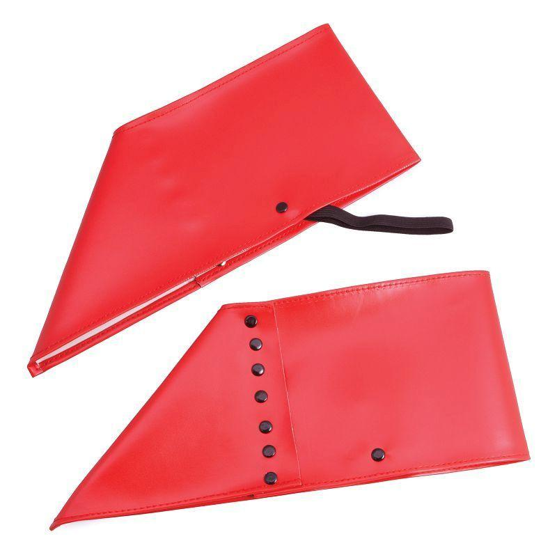 Mens Spats. Red (Costume Accessories) - Male - One Size Halloween Costume