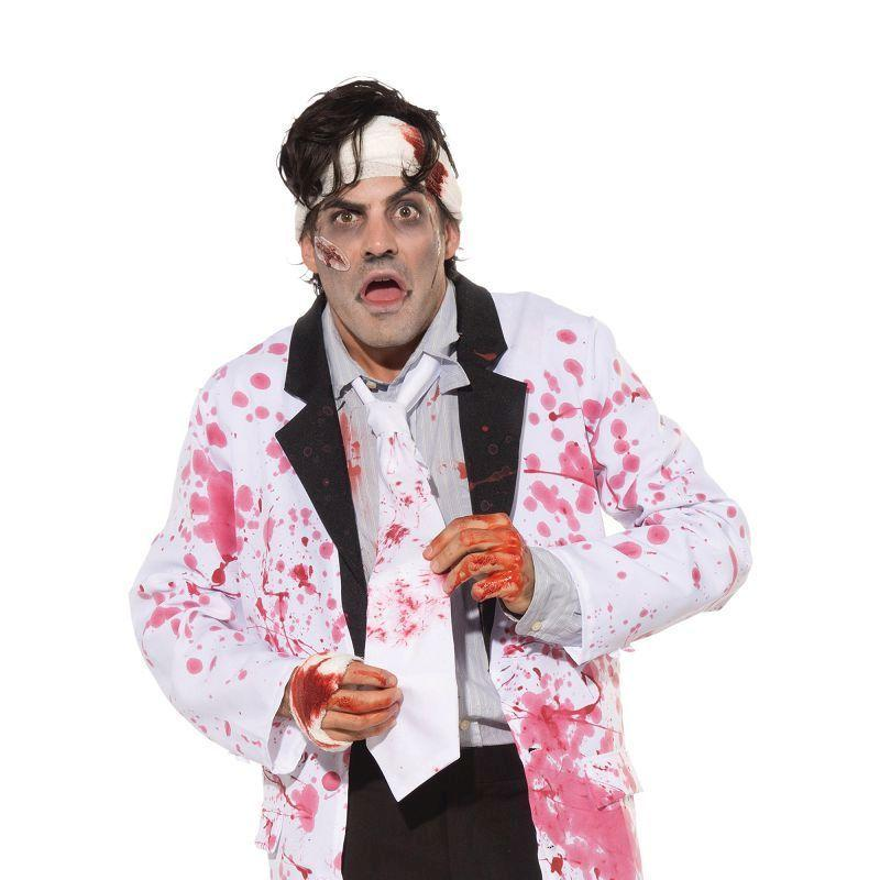 Mens Bloody Tie (Costume Accessories) - Male - One Size Halloween Costume