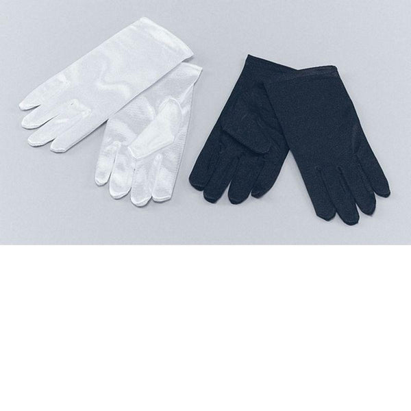 Childs Gloves. White (Costume Accessories) - Unisex - One Size