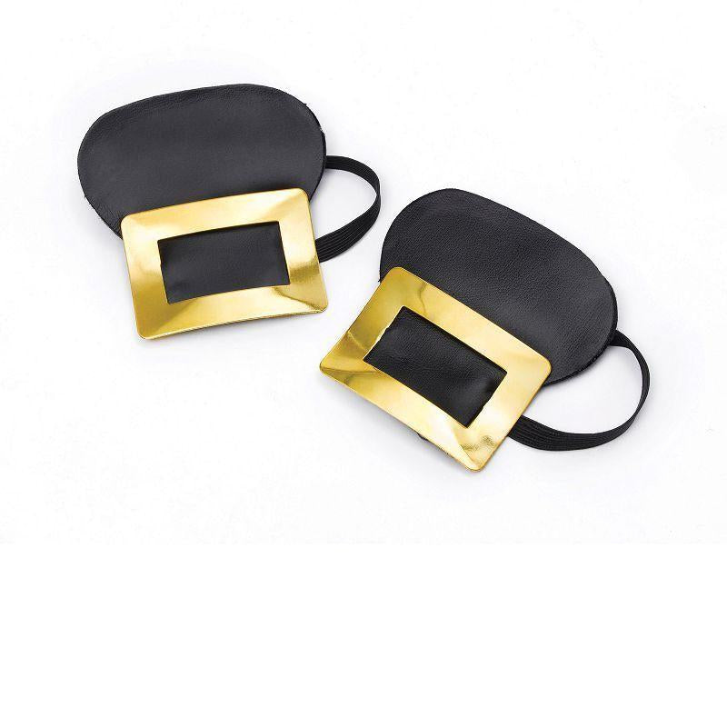Shoe Buckles (Gold Bangle) (Costume Accessories) - Unisex - One Size