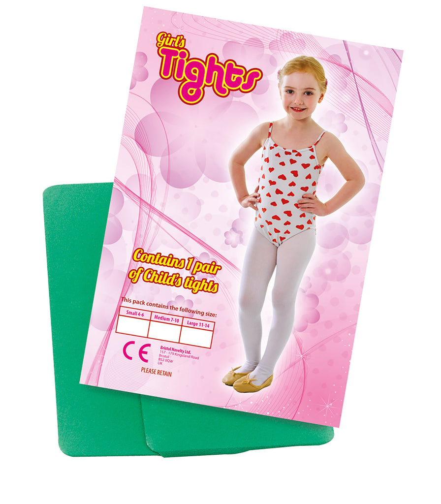 Childs Tights Green 4 6 Small Accessories 4 6 years Small
