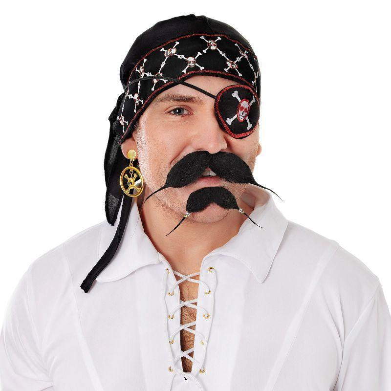 Pirate Bandana Deluxe (Costume Accessories) - Unisex - One Size