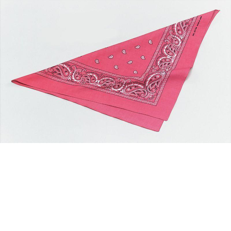 Womens Cowgirl Bandana. Pink (Costume Accessories) - Female - One Size Halloween Costume