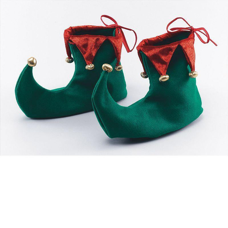 Xmas Shoes. Adult (Costume Accessories) - Unisex - One Size
