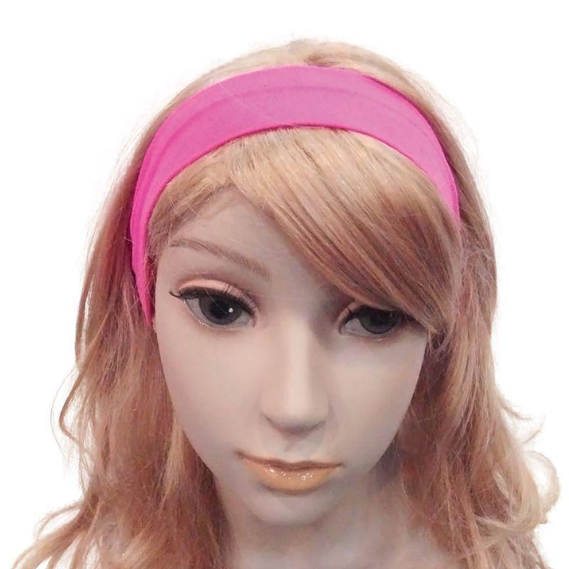 Womens Neon 80s Hairband. Pink. (Costume Accessories) - Female - One Size. Halloween Costume