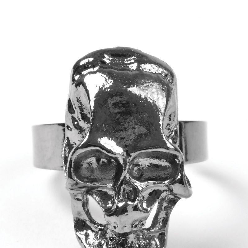 Pirate Skull Ring (Costume Accessories) - Unisex - One Size