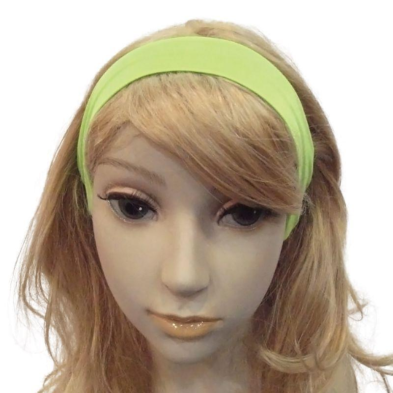 Womens Neon 80s Hairband. Green. (Costume Accessories) - Female - One Size. Halloween Costume