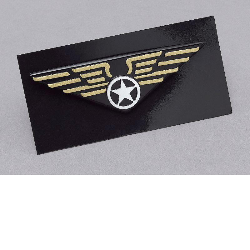 Mens Flying Badge (Costume Accessories) - Male - One Size Halloween Costume