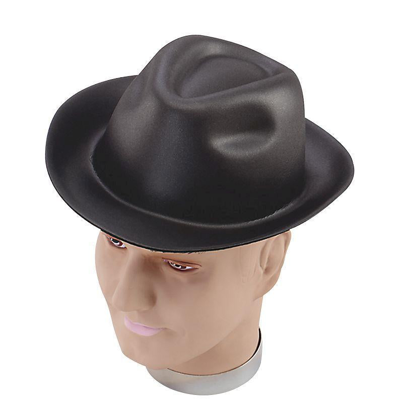 Mens Gangster Hat. Foam (Hats) - Male - One Size Halloween Costume