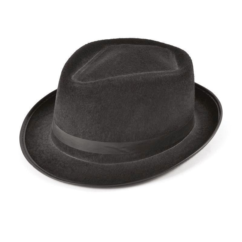 Mens Blues Felt Budget Hat (Hats) - Male - One Size Halloween Costume