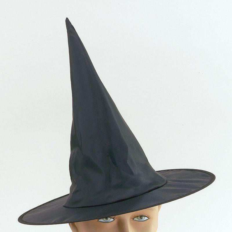 Girls Witch Hat Satin. Child Size (Hats) - Female - One Size Halloween Costume