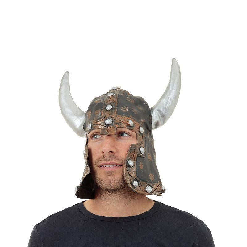 Warrior Style Helmet & Horns (Hats) - Unisex - One Size