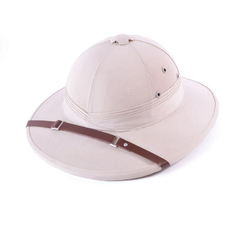 Safari Helmet Beige (Hard) (Hats) - Unisex - One Size