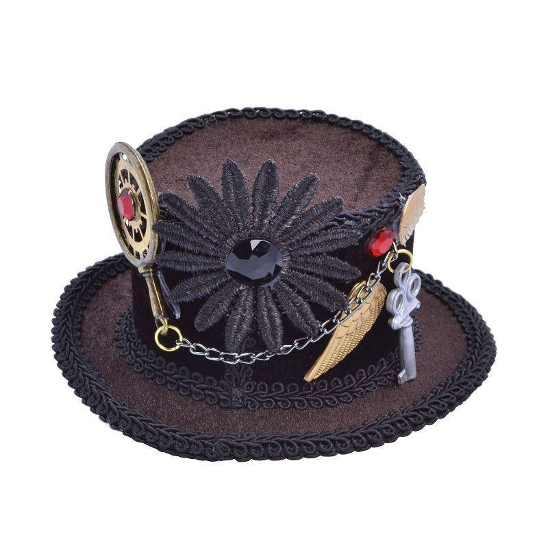 Womens Steampunk / Star Wars Top Hat (Mini). (Hats) - Female - One Size Halloween Costume