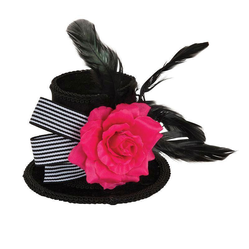 Harlequin Mini Top Hat (Hats) - Female - One Size