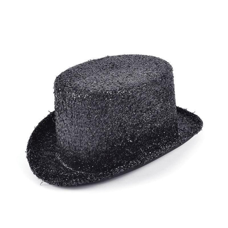 Top Hat Black Lurex (Hats) - Unisex - One Size