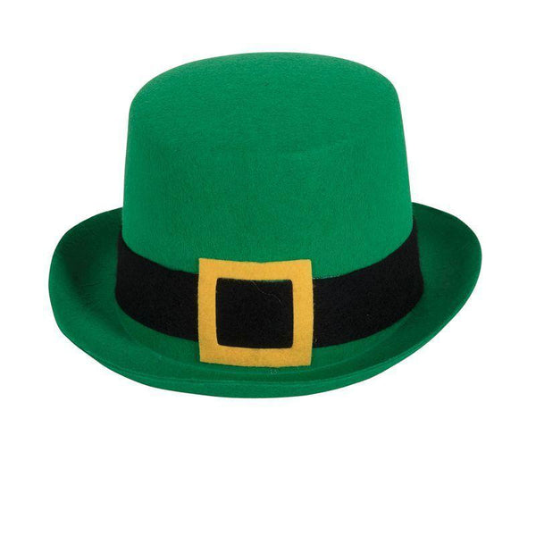 Top Hat Felt Green St. Patricks (Hats) - One size fits most