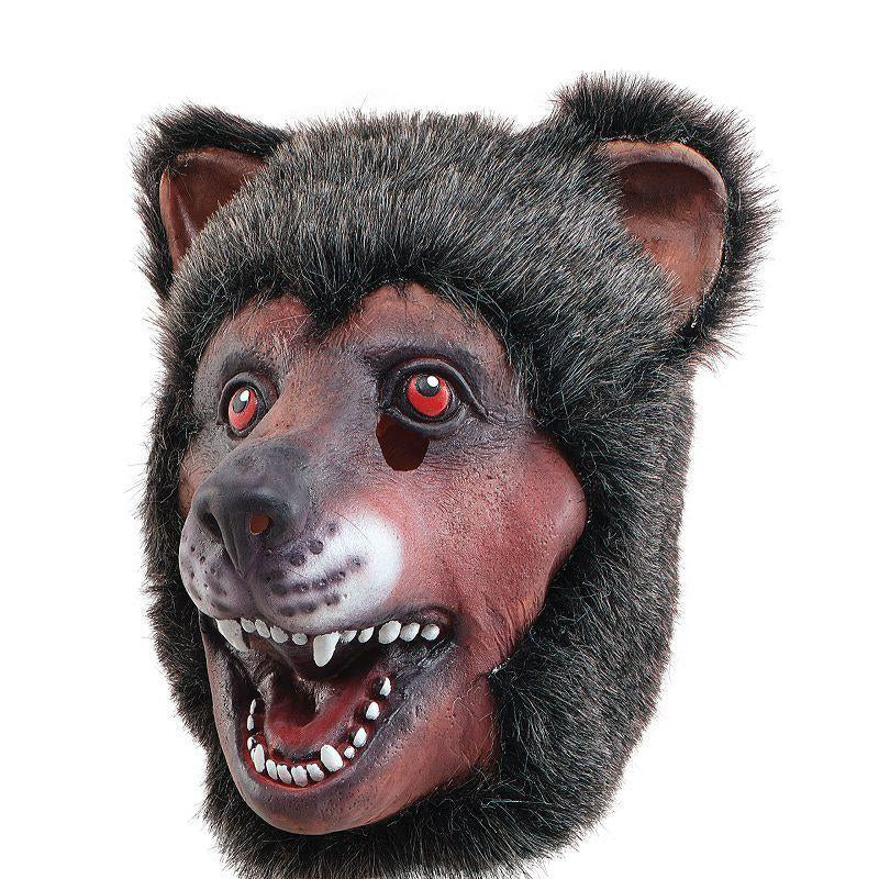 Rubber Bear Overhead Mask. (Rubber Masks) - Unisex - One Size